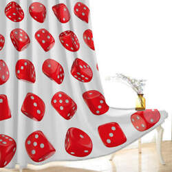 Red Apple Big Red Coat Strawberry Printing 3d Blockout Curtains Fabric Window
