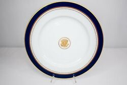Presidential Ronald Reagan White House China Service Fitz And Floyd Charger Plate