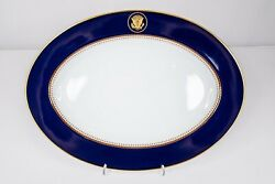 Presidential Ronald Reagan White House China Service Fitz And Floyd 1983 Platter