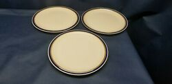 Sunmarc Pantry Collection Stoneware Blueberry Set/3 Dinner Plates Japan