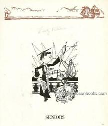 Two Yearbooks From Leighton High School Pennsylvania Signed By Franz Kline