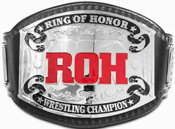 Roh Ring Of Honor Wrestling Championship Belt 2mm Plates Adult Size
