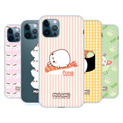 Official Molang Sushi Soft Gel Case For Apple Iphone Phones