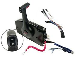 Mercury 881170a15 Remote Control Box Shifter Side Mount T/t 15and039 Wire Harness Lc