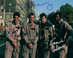 Dan Aykroyd Murray Ramis Ghostbusters +1 Signed 8x10 Photo Picture Autographed