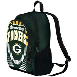 Brand New Green Bay Packers Backpack And Lunchbox Northwest Company Lightning