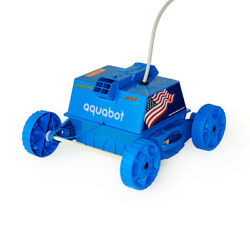 Aquabot Aprvjr Robotic Junior Rover For Cleaning Above Ground Pools For Parts