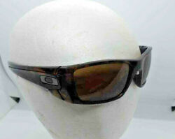 Oakley Fuel Cell Tortoise Smoke Frame Polished quot;Oquot; W Root beer Smoke Lens $75.00