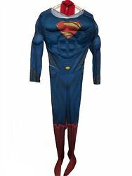 Rubie#x27;s Costume Man Of Steel Deluxe Adult Muscle Chest Superman Costume Large