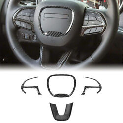 Steering Wheel Trim For Dodge Challenger Charger And Jeep Grand Cherokee Srt8