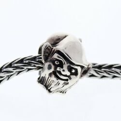 Authentic Trollbeads Sterling Silver 11427 Elf Bead 0 Retired