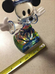 Exclusive Disney World Mickey Mouse Crystal Fantasia Sorcerer Figurine Sg205
