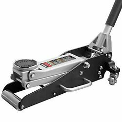 Tam815016l Hydraulic Low Profile Aluminum And Steel Racing Floor Jack With Dual