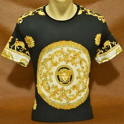 CLEARANCE Brand New With Tags MEN#x27;S VERSACE T SHIRT Slim Fit Size M to 2XL $18.99