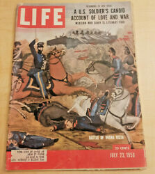 Life Magazine bagged boarded July 23 1956 Party for Teen Agers G.O.P. more $4.99