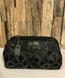 Small Coach Cosmetic Bag Pouch Case Makeup Bag $50.00