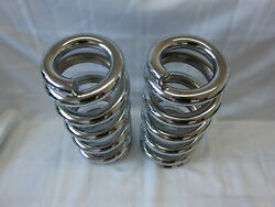 Lowrider Hydraulics 3.75 Ton Coils Full Stack Fit Chevy Impala 58-64 Chrome