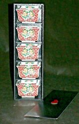 10 Piece Vintage Japanese Hand-painted Porcelain Rice And Tid Bit Bowls -signed