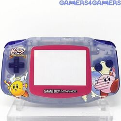Kirby Amazing Mirror Gba Complete Handheld Housing Shell Game Boy Backlit Ips