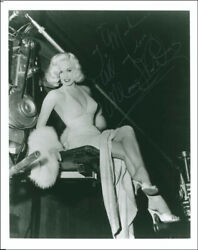 Mamie Van Doren - Inscribed Photograph Signed