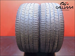 2 Two Tires Excellent Continental 255/45/20 Crosscontact 101h Suv Mercedes 49356