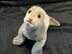 Vintage Steiff Robby The Seal Rare 10 Tall Plush No Ear Button With Whiskers