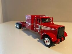 Red And White Dcp 1/64 Peterbilt 379 63 Flat Top 6 1/2long Parts Truck