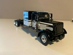 Black And White Dcp 1/64 Peterbilt 379 63 Flat Top 6 1/2long Parts Truck