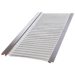 20-pack Gutter Guard Protection 4 Ft. 5 In. Micro-mesh Stainless Steel Protect