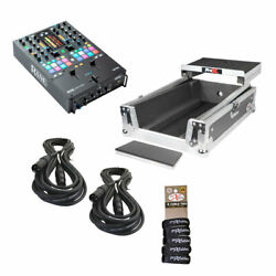 Rane Seventy Two Mkii Bundle Package W/shelved Case Cables And Wraps