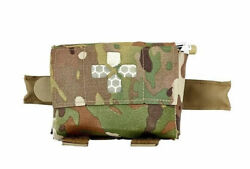 Blue Force Gear Belt Mounted Micro Trauma Kit Now W/no Contents Multicam