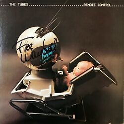 Fee Waybill The Tubes Signed Remote Control Album W/vinyl