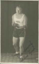 Dan Lynch - Picture Post Card Signed