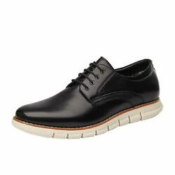 Bruno Marc Mens Casual Shoes Classic Lace up Round Toe Oxford Formal Dress Shoes