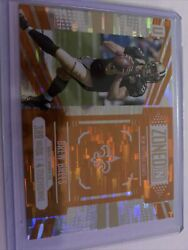 Drew Brees 2017 Panini Unparalleled Zoned In Orange Wind Chimes 10/25