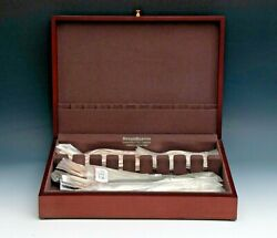 Francis I Sterling -reed And Barton 32 Piece Place Size Service For 8 Factory New