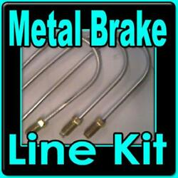 Brake Line Kit Chevelle Monte Carlo 1964 -1976 -replace Rusted Lines