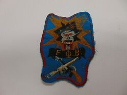 Military Patch Old Vietnam Era Fob Special Forces Skull Crossed Rifles