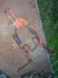 Vintage Allis Chalmers D 19 Gas Tractor -cat 2 Snap Coupler 3 Point Adapter