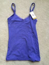 B.tempt'd By Wacoal B.natural Camisole Cami Purple Small Nwt 914256