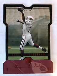 2004 Larry Fitzgerald Rc Skybox Le Black Rookie Rare