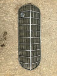 Original Gm Cadillac Lasalle Front Grille Grill And Emblem Rare 1934 1935 1936