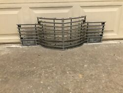1941 Cadillac Front Chrome Grill No Cracks Includes Rare Vertical Filler Strips