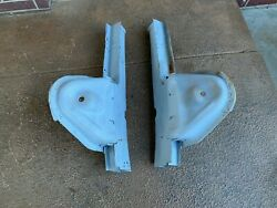B Body Front Frame Rails And Shock Towers Original Southern Mopar Pair 1966 Andndash 1970