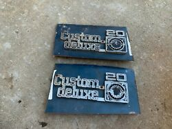 Chevy Truck Emblem 1973 Andndash 1978 Pickup Custom Deluxe 20 Good Mounting Points