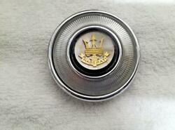 Early Maserati 3500gt Gold Trident Horn Button Assembly- Very Rare Restored