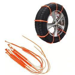 New Car Anti-skid Chains Cable Winter Snow Chains Ties Emergency Wheel Tire Belt