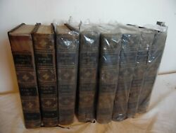 Antique 1900 Rare The History Of Our Country Vol-1-8 Deluxe Art Edition 126/500