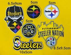 Nfl Pittsburgh Steelers Logo Patch Sport Embroidery ,iron ,sewing On Fabric