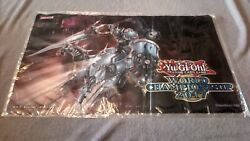 Iron Knight Of Revolution Game Mat From Yugioh World Championship 2017 Sealed